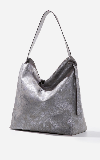 Bolso shopper metal