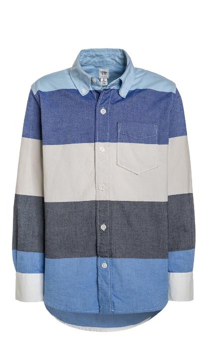 Camisa informal blue