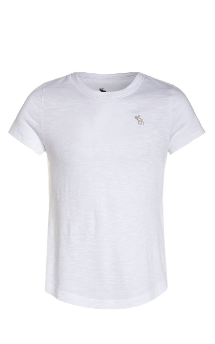 Camiseta white Abercrombie