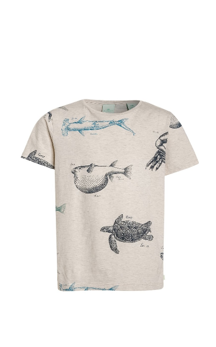 Camiseta shrunk fish