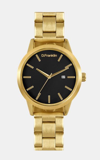 Reloj date gold