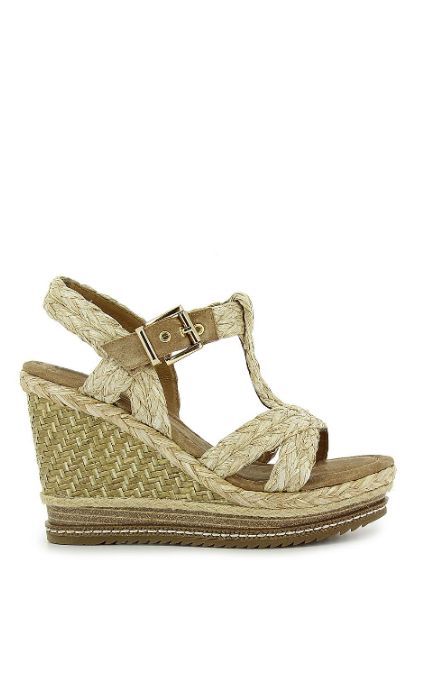 Cuña Willow Wedge Beig