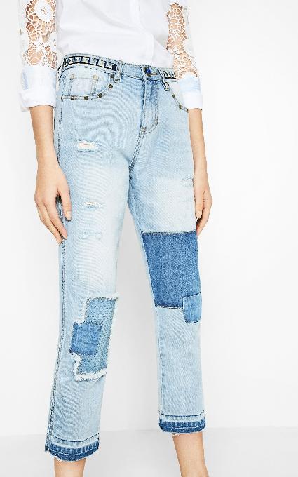 Jeans Desigual Parches Olga Telva Jeans Parches Parches Telva Desigual Telva Olga Olga Jeans Jeans Desigual r4pWqr