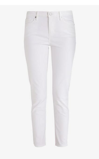 Pantalón fit blanco