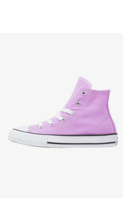 Zapatillas lila Converse