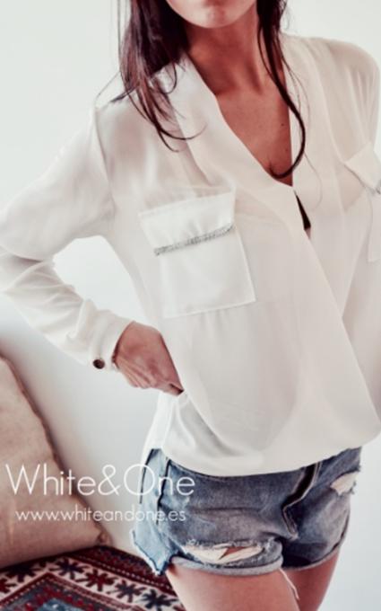 Blusa sol white
