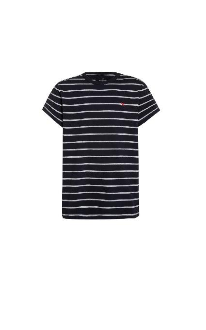 Camiseta Rayas Navy