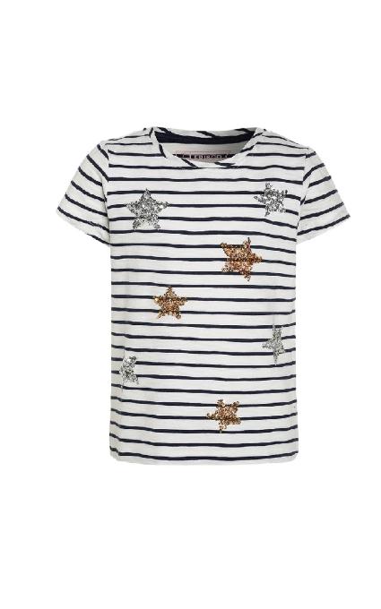 Camiseta rayas y estrellas