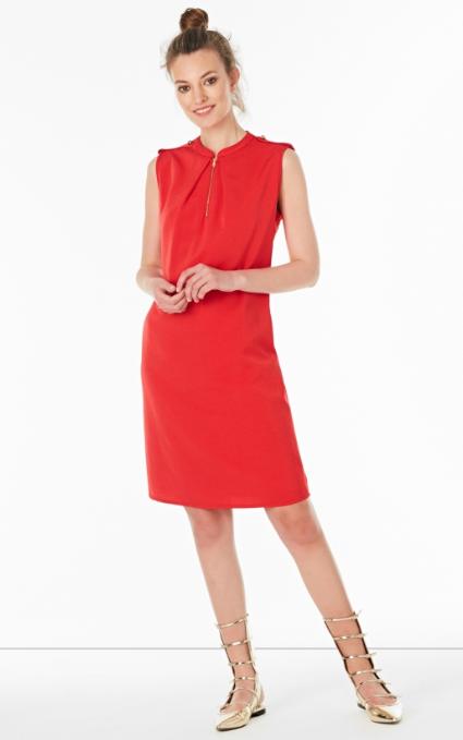 Vestido rojo mao