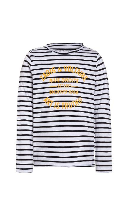 Camiseta marinera logo