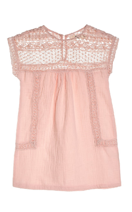 Vestido encaje pink