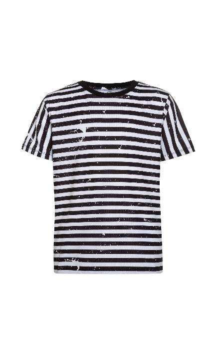 Camiseta print rayas