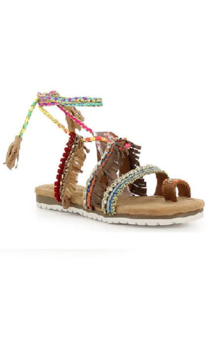 Sandalias estilo indio