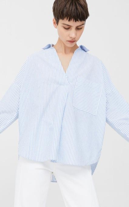 Camisa algodón oversize