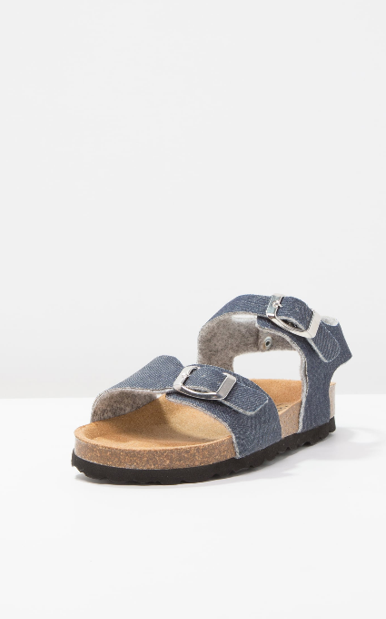 Sandalias blue denim