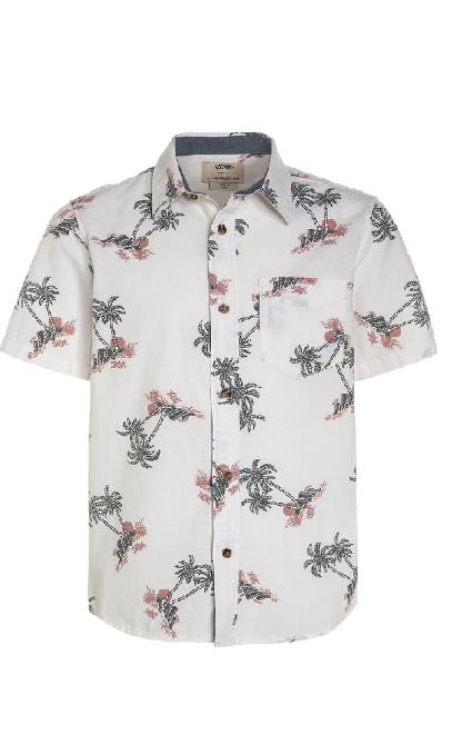 Camisa estampado de palmeras