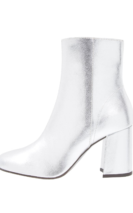 Botines metallic