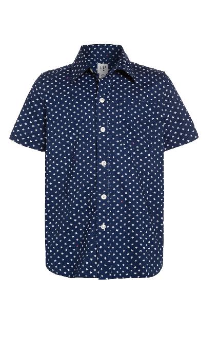 Camisa estrellas azul