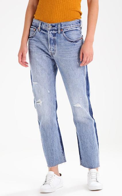 Jeans bicolor boyfriend