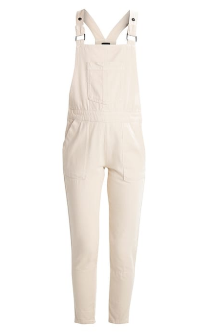 Peto denim blanco