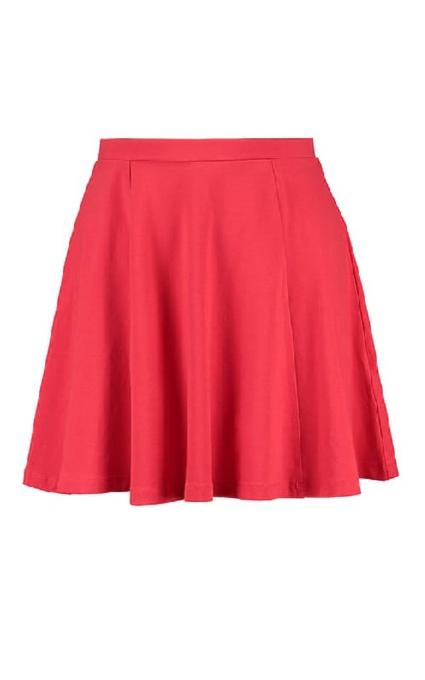 Falda red