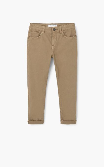 Pantalón algodón bolsillos