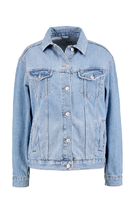 Chaqueta mid denim