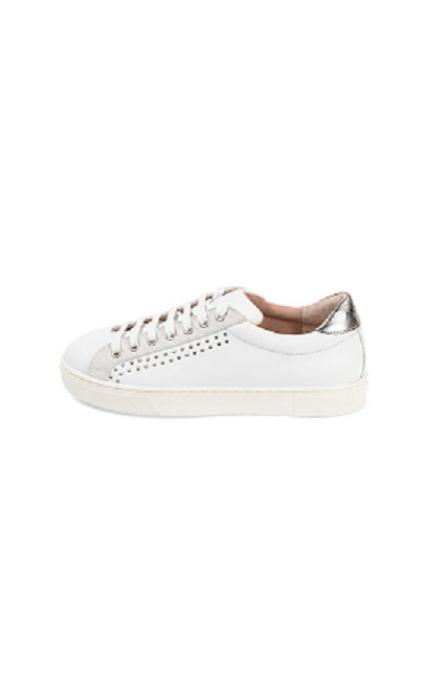 Sneakers serraje blanco