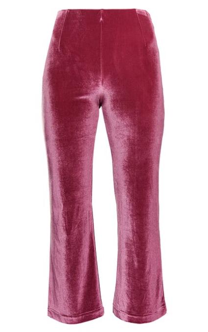 Pantalón terciopelo rosa
