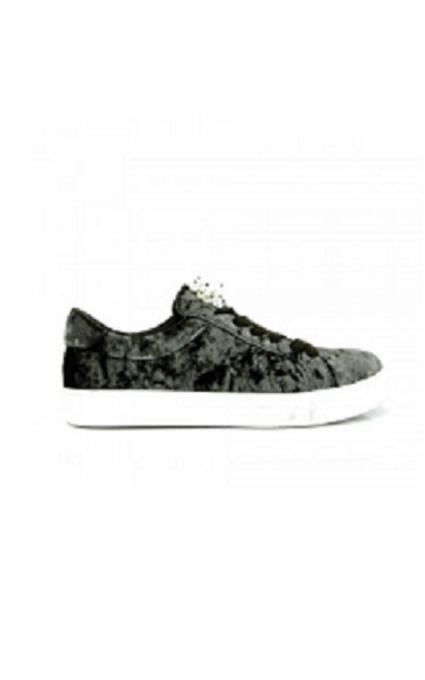 Sneakers terciopelo