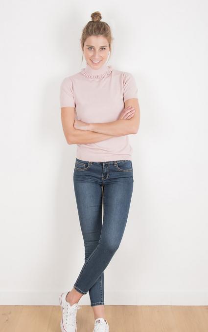 Jeans elásticos.