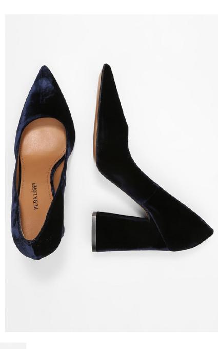 Zapato blue notte