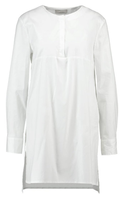 Camisa blanco larga