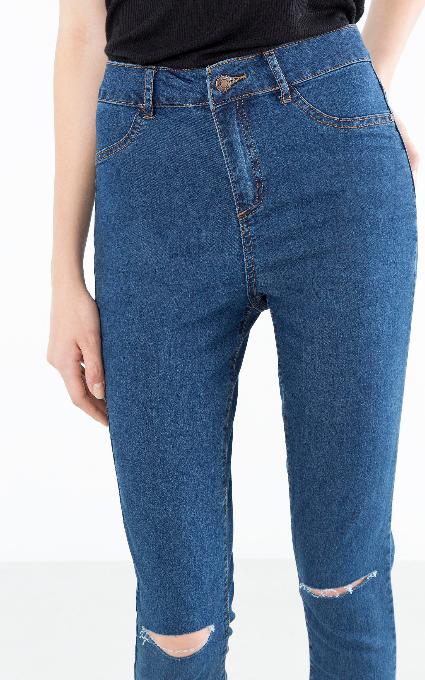 Jeans skinny altos