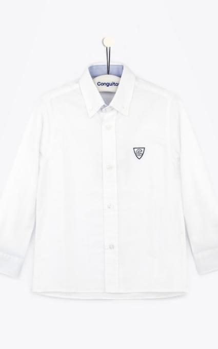 Camisa escudo blanco