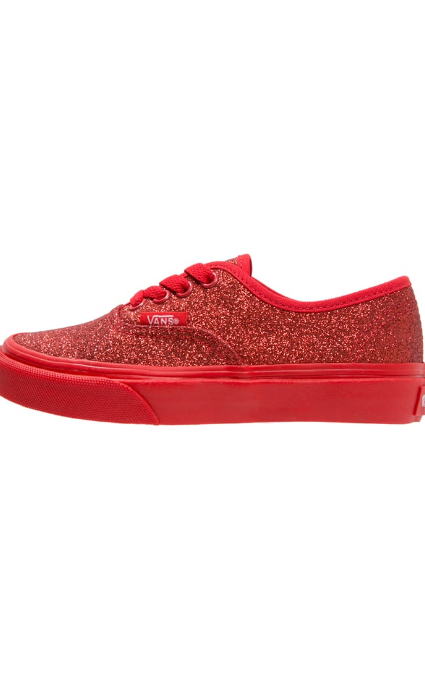 Zapatillas shimmer red