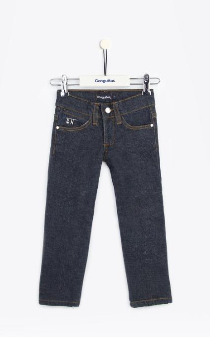 Jeans niña strass