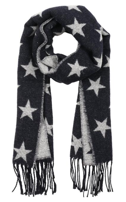 Bufanda navy estrellas