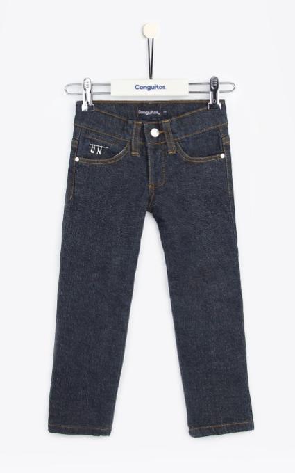 Jeans strass dark